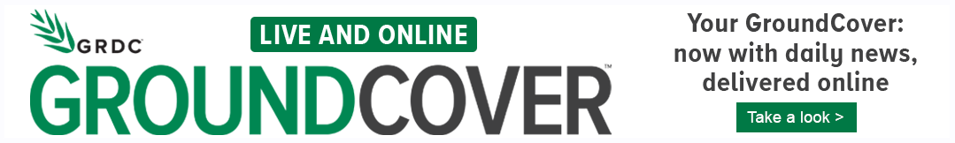 GroundCover Live and online, stay up to date with daily grains industry news online, click here to read more