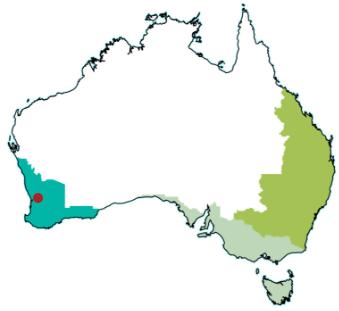 map Perth