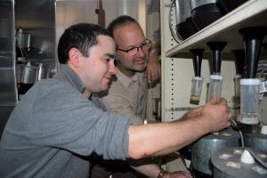 image of Thomas Heddle (left) and Maarten van Helden
