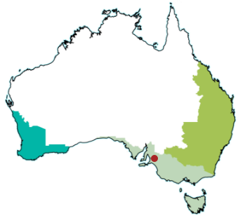 map Adelaide