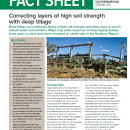 Correcting layers of high soil strength with deep tillage - southern…