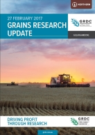 Gulargambone GRDC Grains Research Update booklet thumbnail