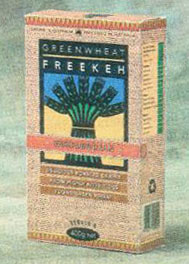 'Freekeh' Greenwheat packet