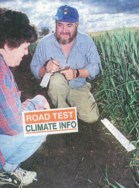 Julienne and David Brimblecombe: interested in SOl indicators for past 10 years.