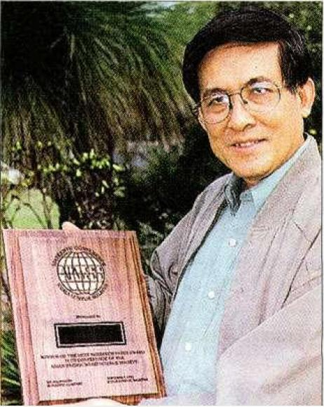 Dr Aik-Hock Cheam headed team which gained international award for weed research.