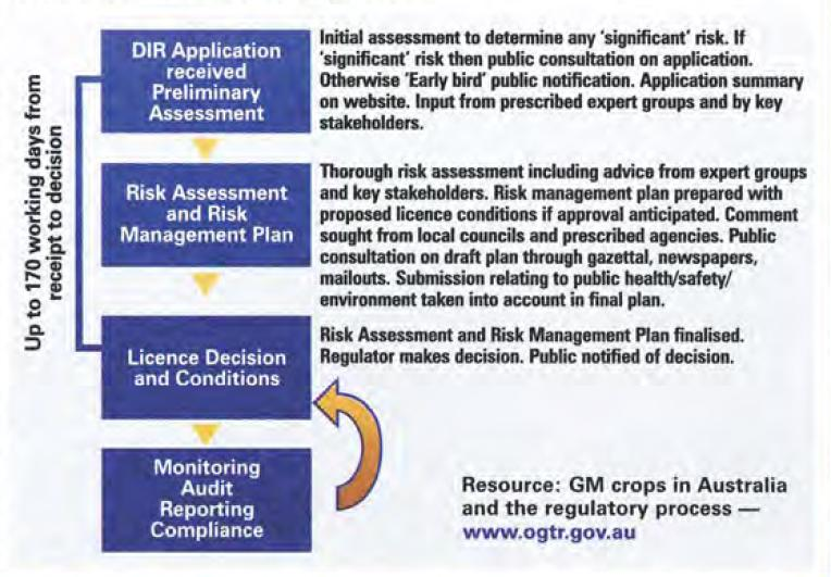 Diagram demonstrating the development and implementation of a Risk Assessment and Management plan.