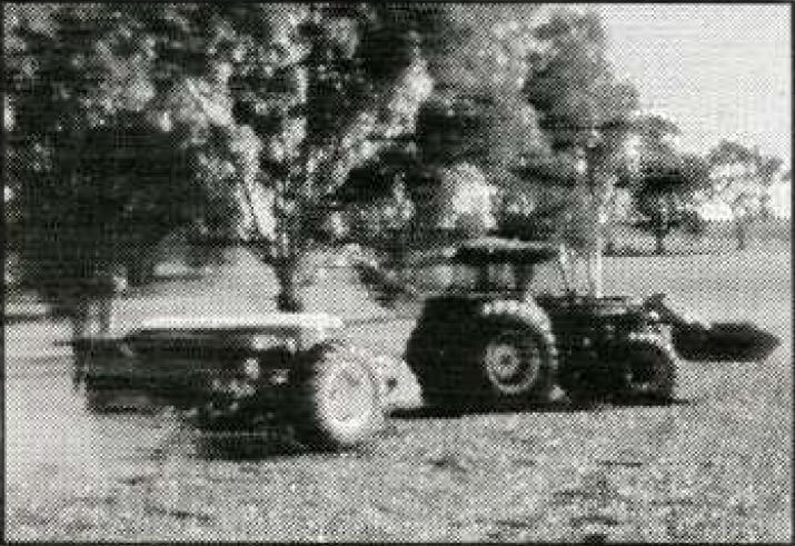 Photo of a tracktor