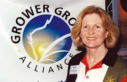 Photo of GRDC Western Panel member and Liebe Group sponsorship officer, merrie Carlshausen