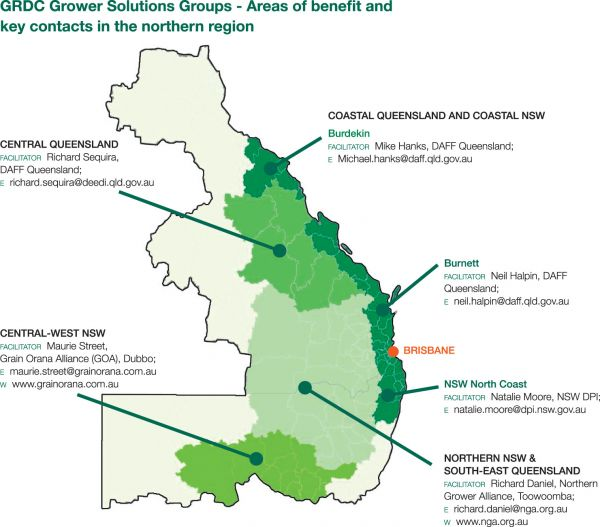 Northern Grower Solutions Group Map