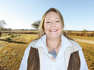 Sharon O'Keeffe, GRDC manager regional grower services - north.
