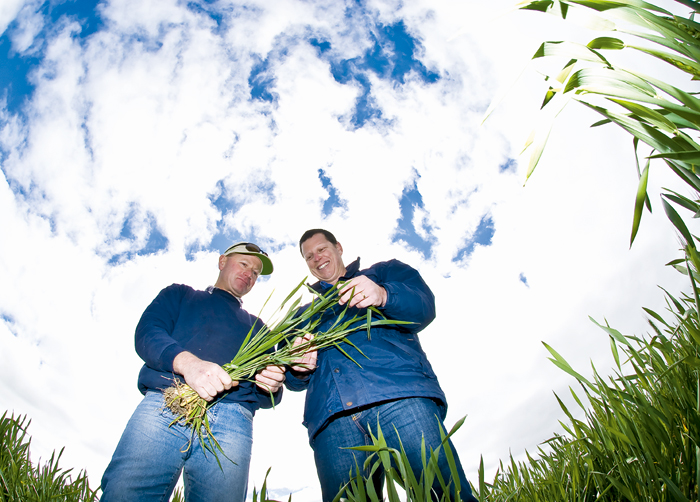 Ravensthorpe grain grower Lloyd Burrell and Precision