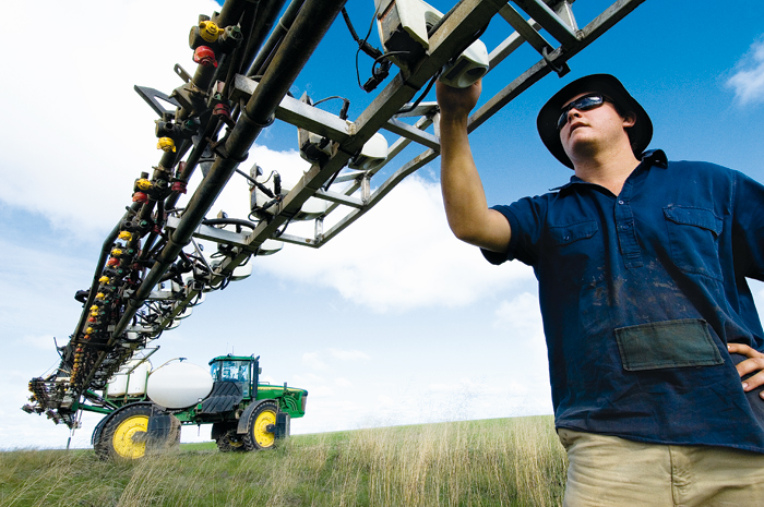 Selective Spraying To Cut Costs Grdc
