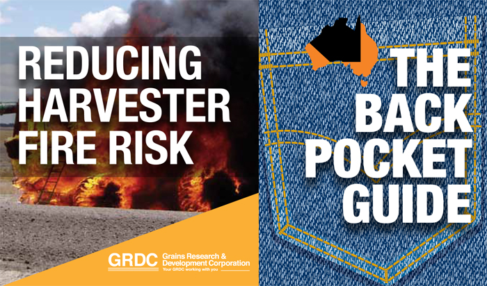 Cover of Reducing Harvester Fire Risk: The Back Pocket Guide