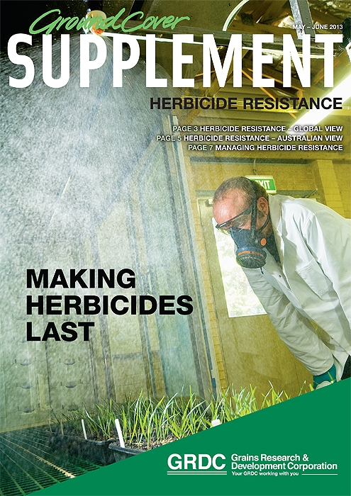 Image of Ground Cover Supplement (May/June): Herbicide resistance
