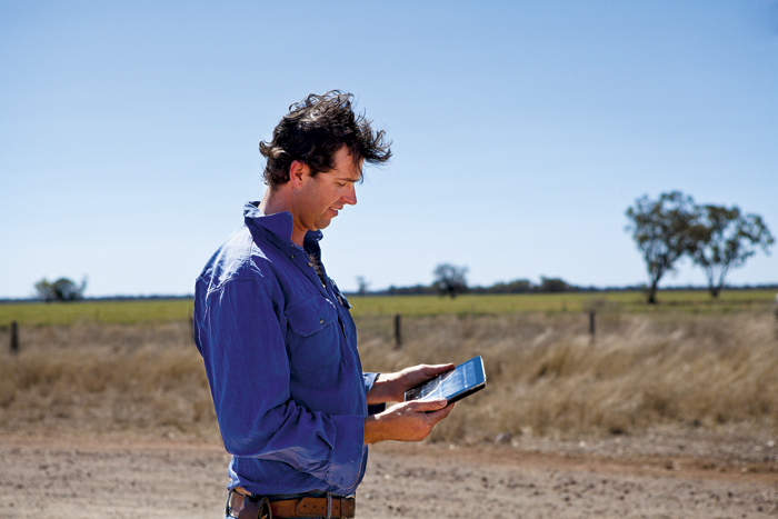 Photo of northern NSW grower Rob Woods