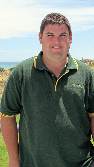 Image of agronomist Michael Moodie