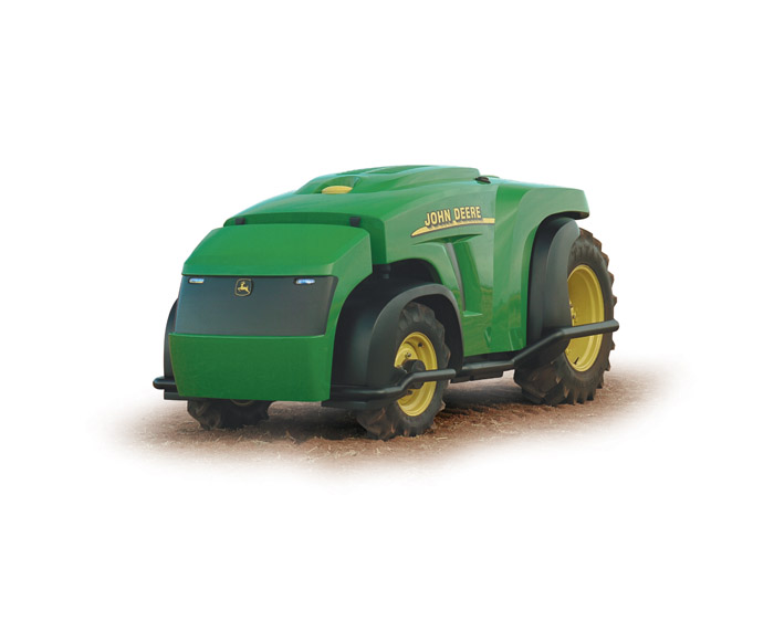Image of an automated tractor
