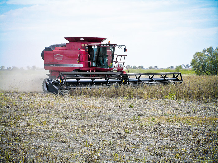 Image of a harvester