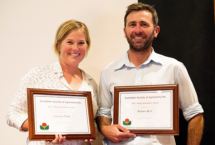 Agronomists recognised