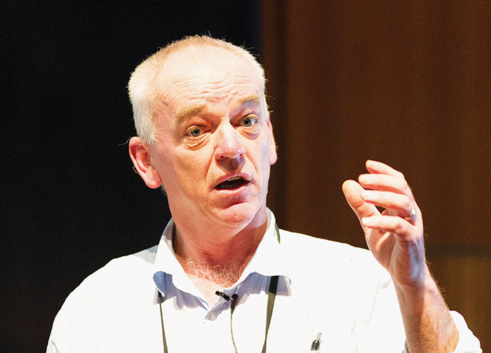 photo of NSW Department of Primary Industries researcher Colin McMaster