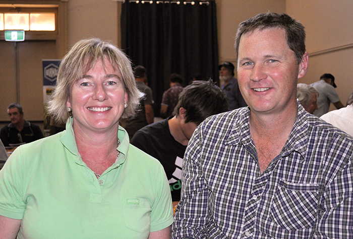 Photo of Karyn and Greg Durrant