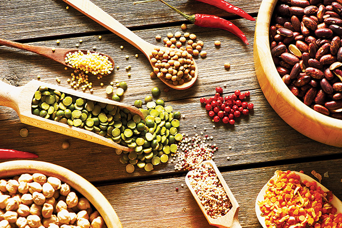 Image of assorted pulses