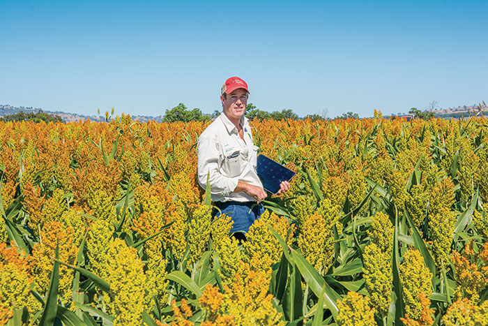 Photo of grower David McGavin