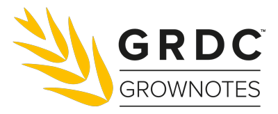 GRDC GrowNotes Logo