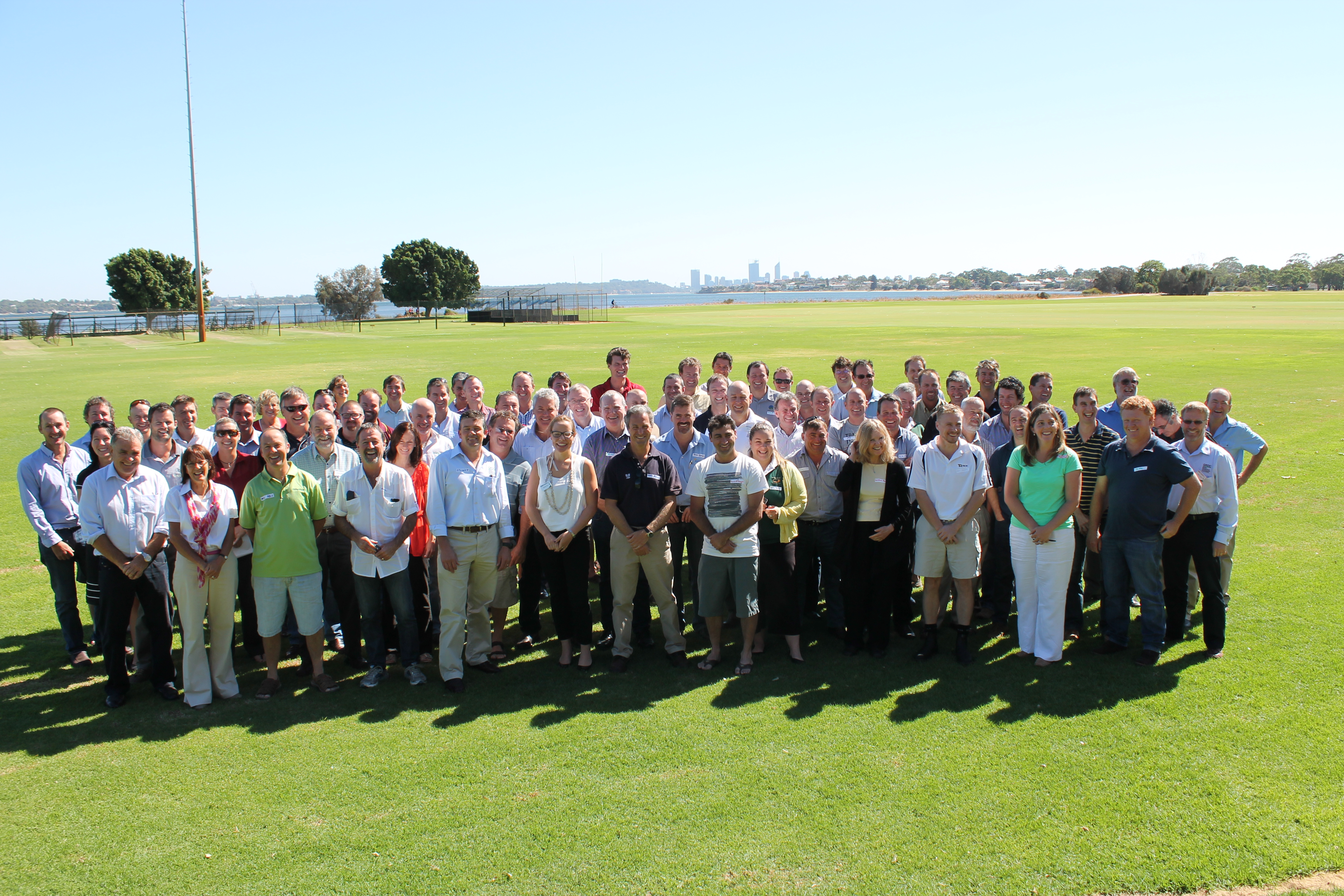 Personnel from GRDC and the five Regional Cropping Solutions Networks