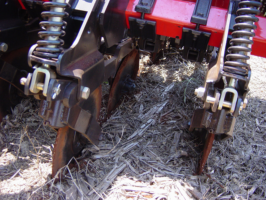 Close up of Seeder
