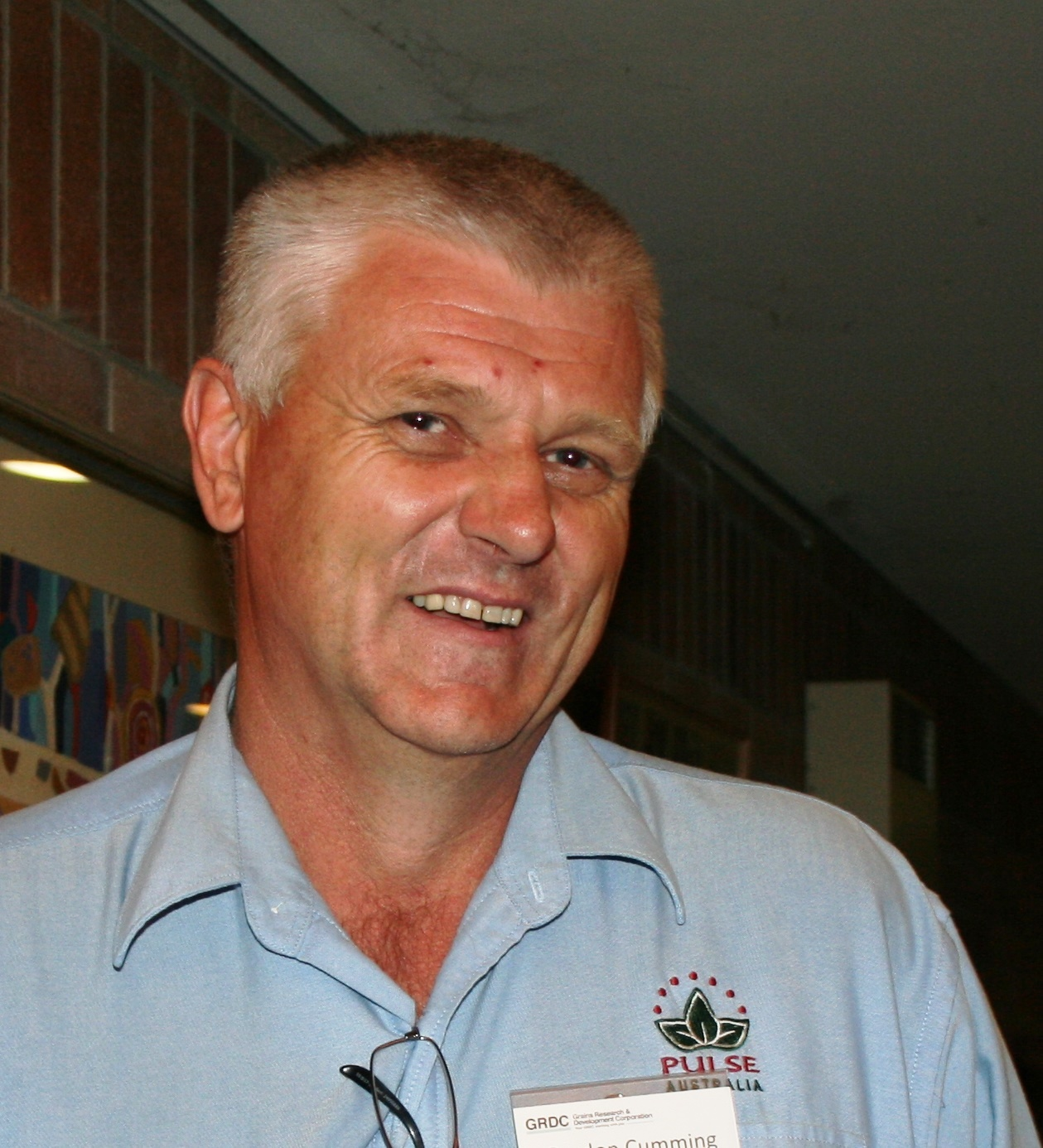 Image of Pulse Australia national manager Gordon Cumming.