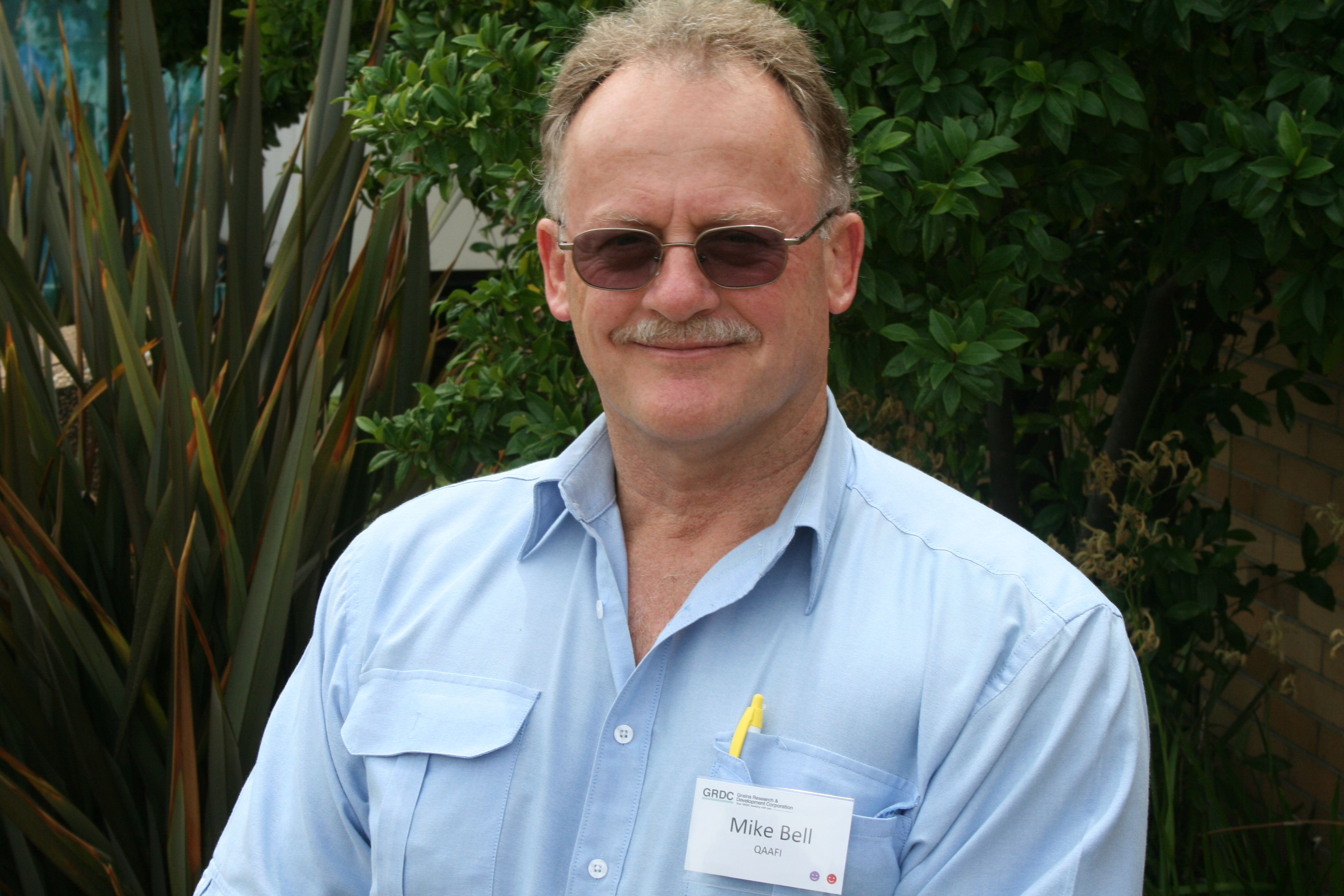 Image of Mike Bell from the Queensland Alliance for Agriculture and Food Innovation (QAAFI).