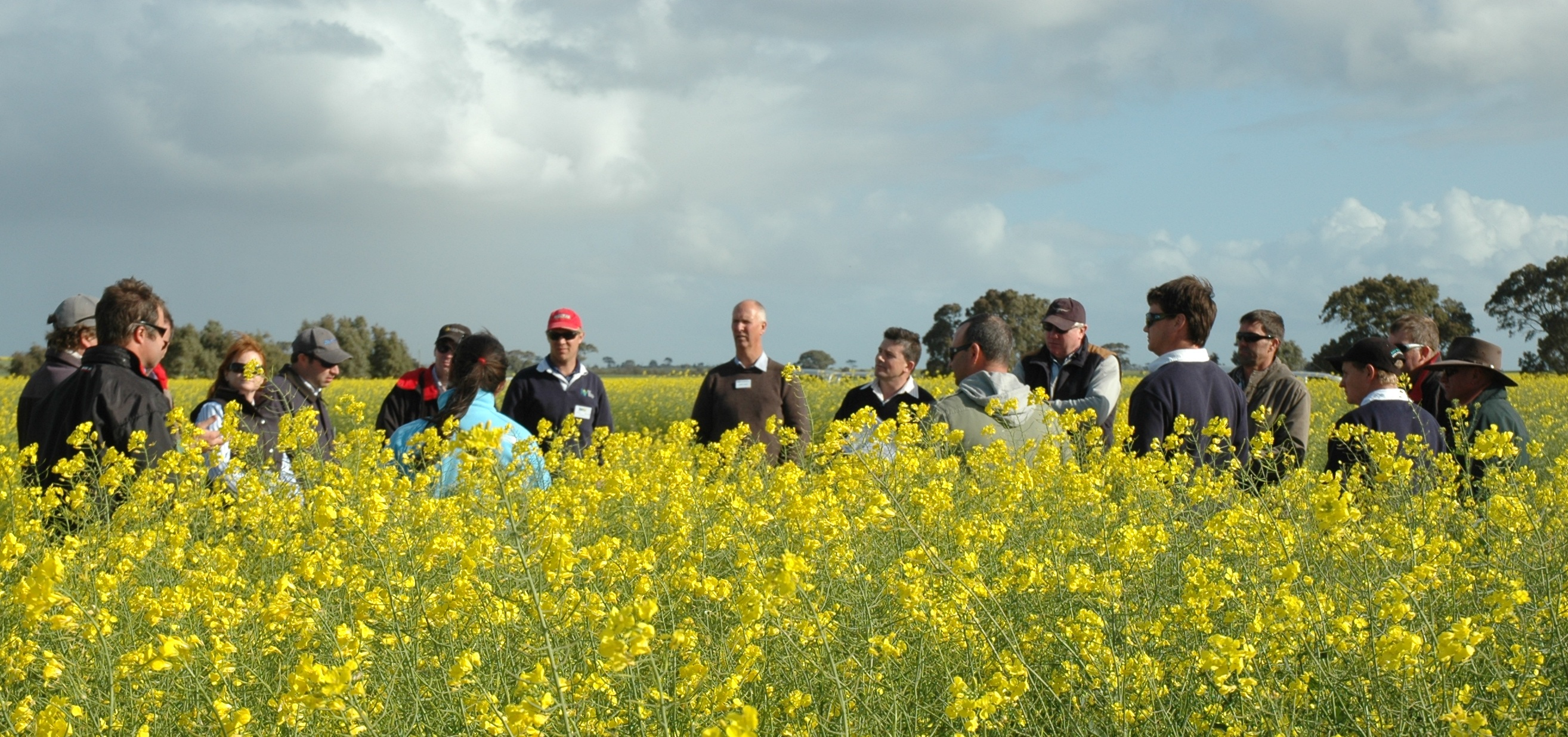 The GRDC Southern Panel on their annual spring tour