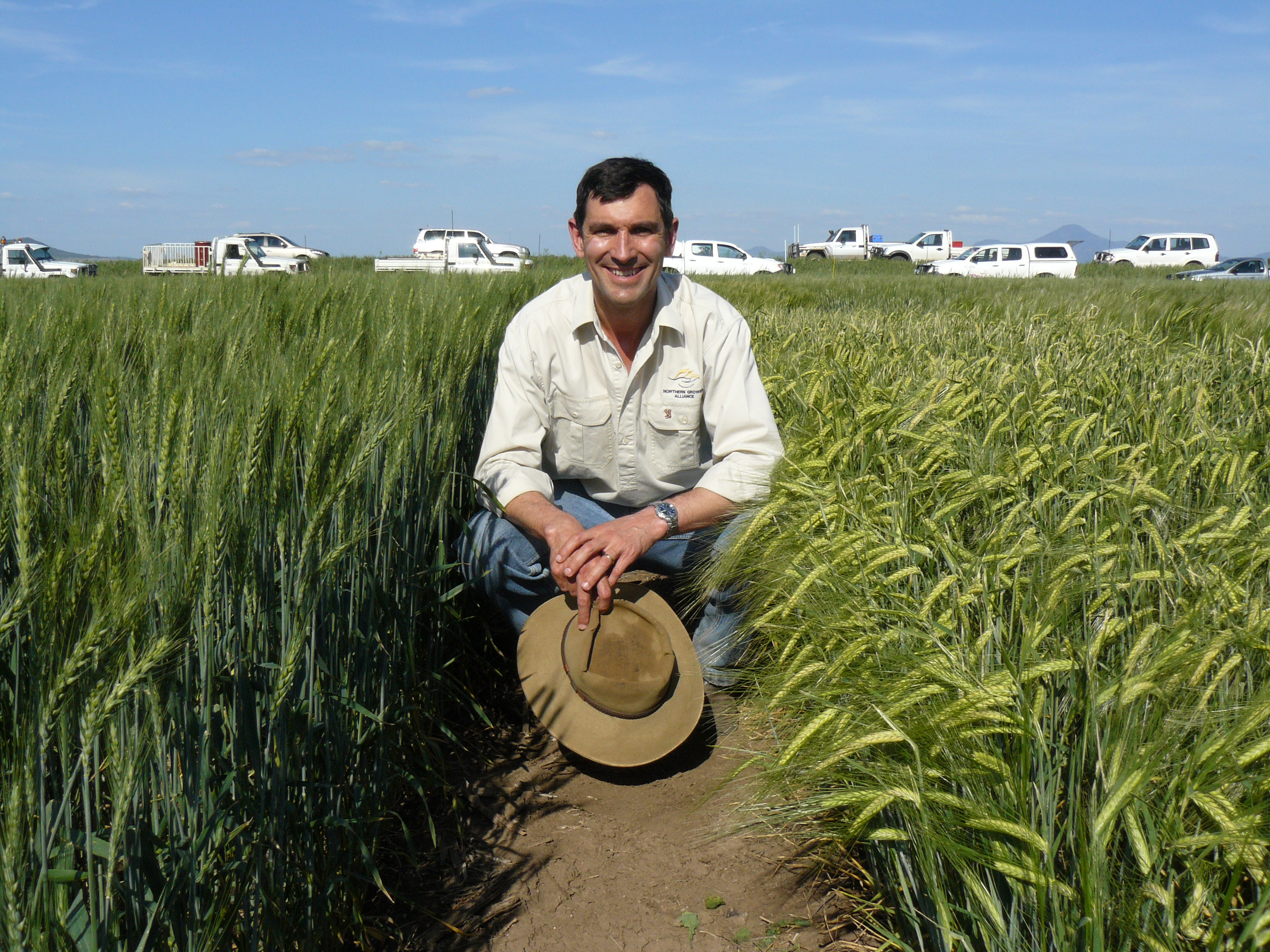 Image of Richard Daniel, Chief executive officer of the GRDC-funded grower group Northern Grower Alliance.