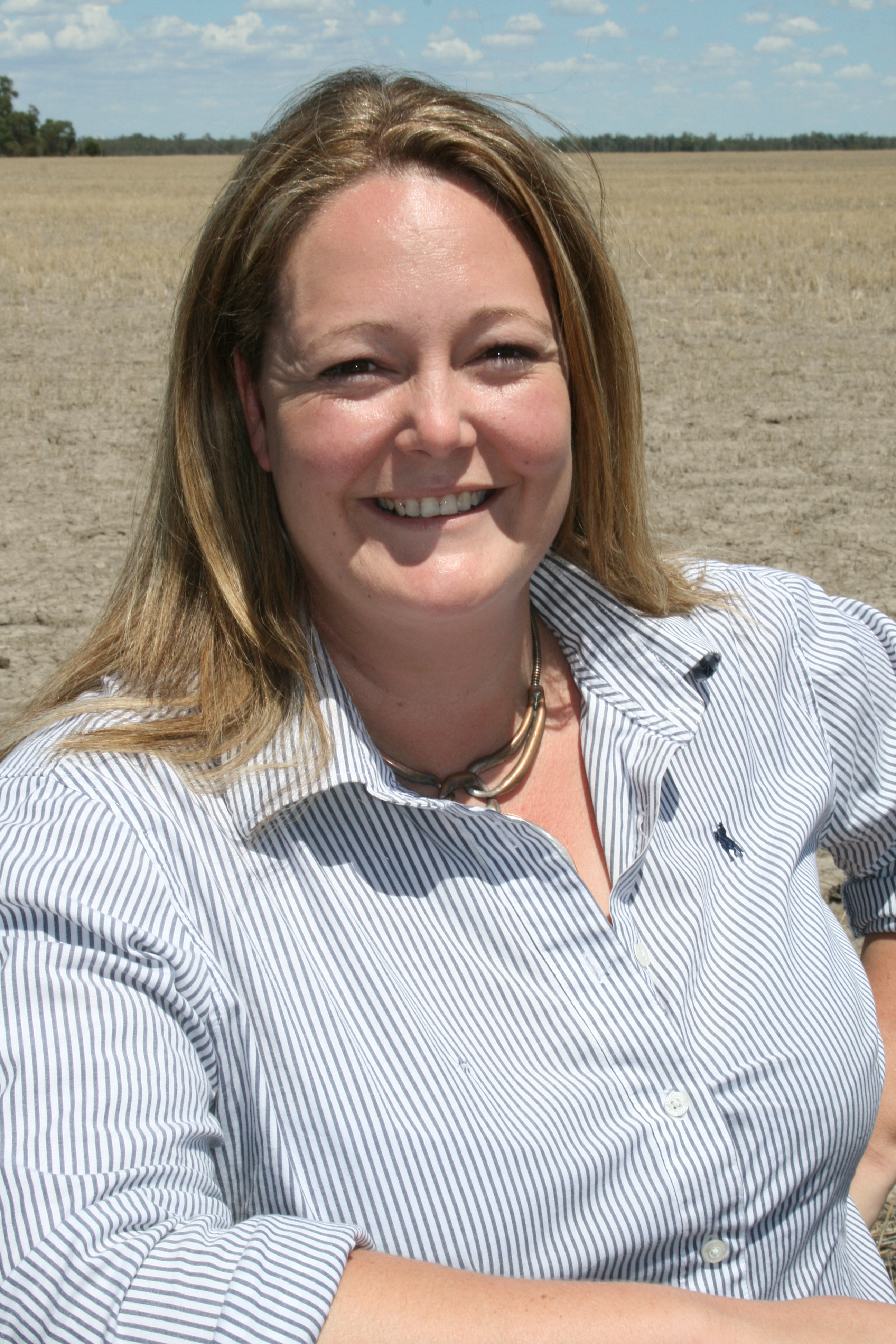 Image of Sharon O'Keeffe, GRDC manager regional grower services, north.