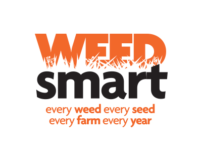 WeedSmart logo: every weed every seed every farm every year