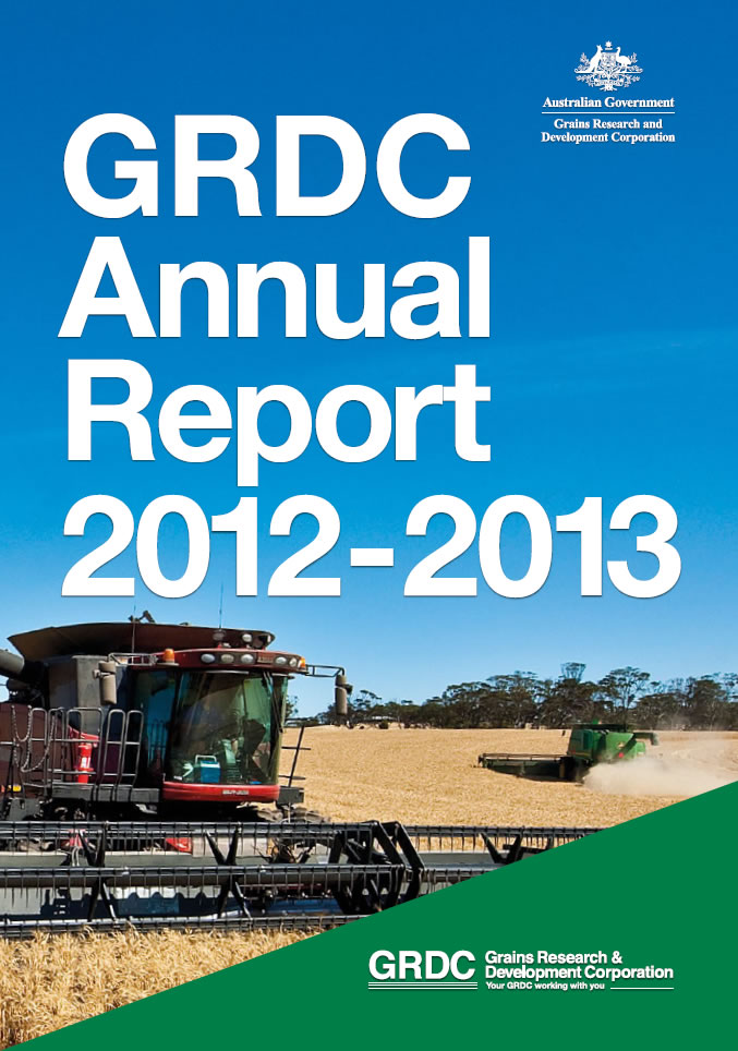 GRDC Annual Report 2012-13