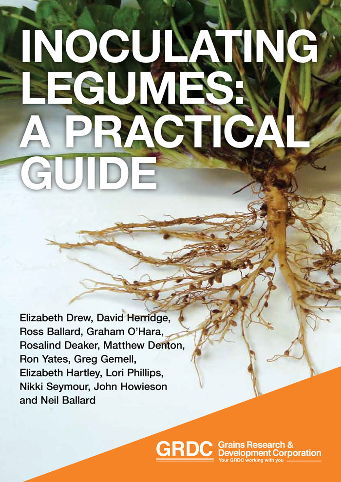 Image of Cover page of Inoculating legumes: A practical guide