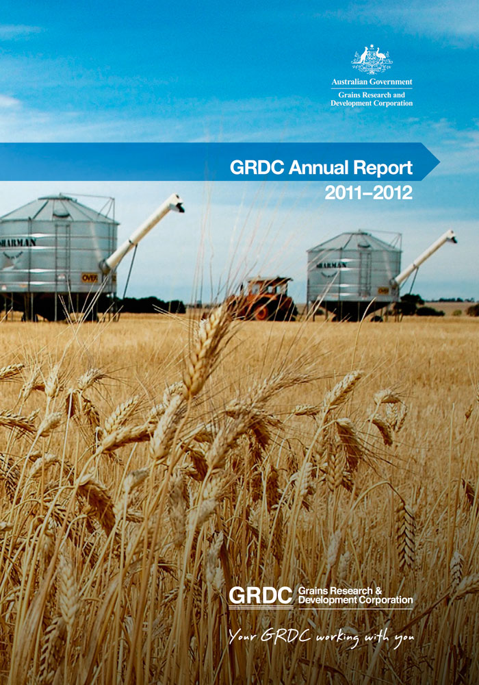 GRDC Annual Report 2011-12 cover page