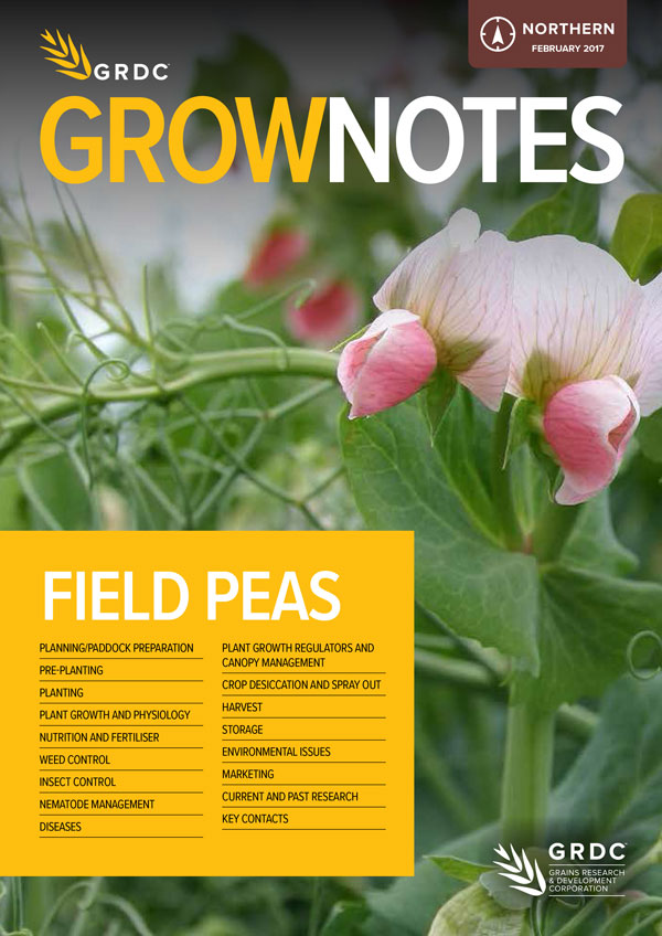 GrowNotes Field Peas Cover