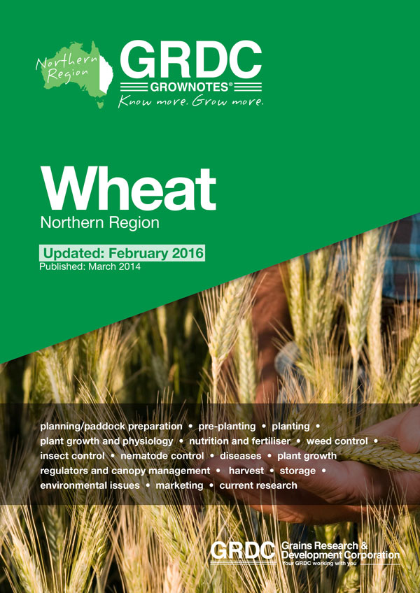 GRDC GrowNotes Wheat Northern cover image