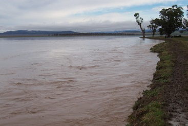Figure 1. Floods on Windy Station - at least 3 years in 5.